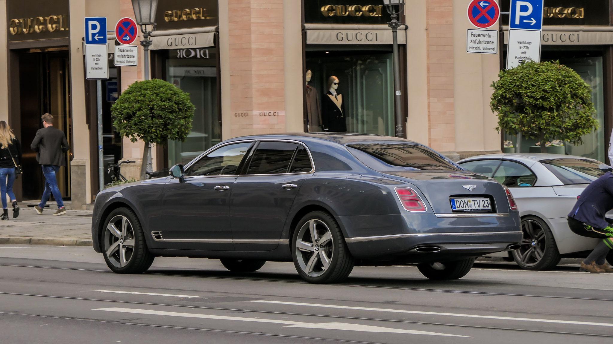 Bentley Mulsanne - DON-TV-23