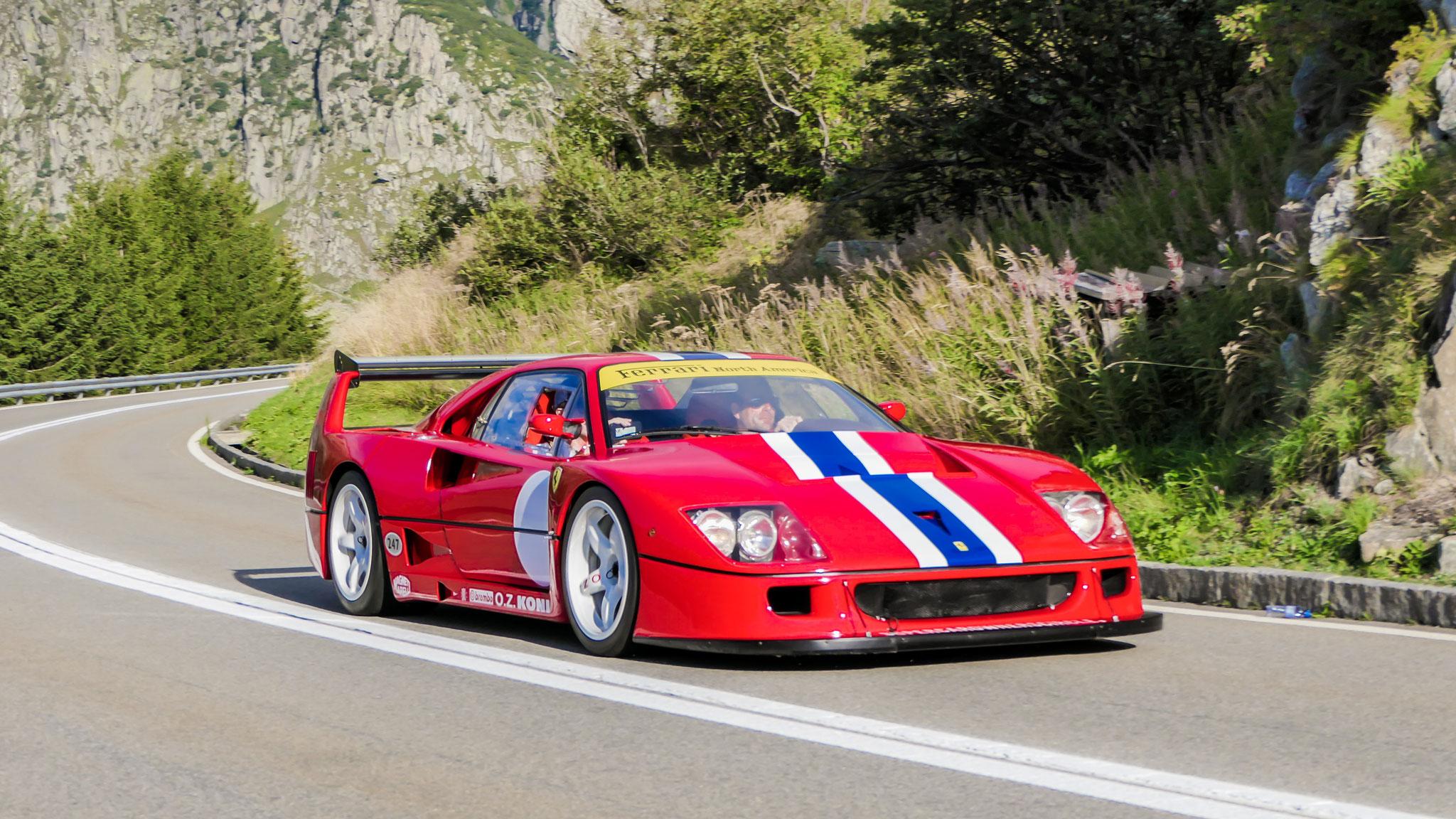 Ferrari F40 LM - K420-HRM (GB)