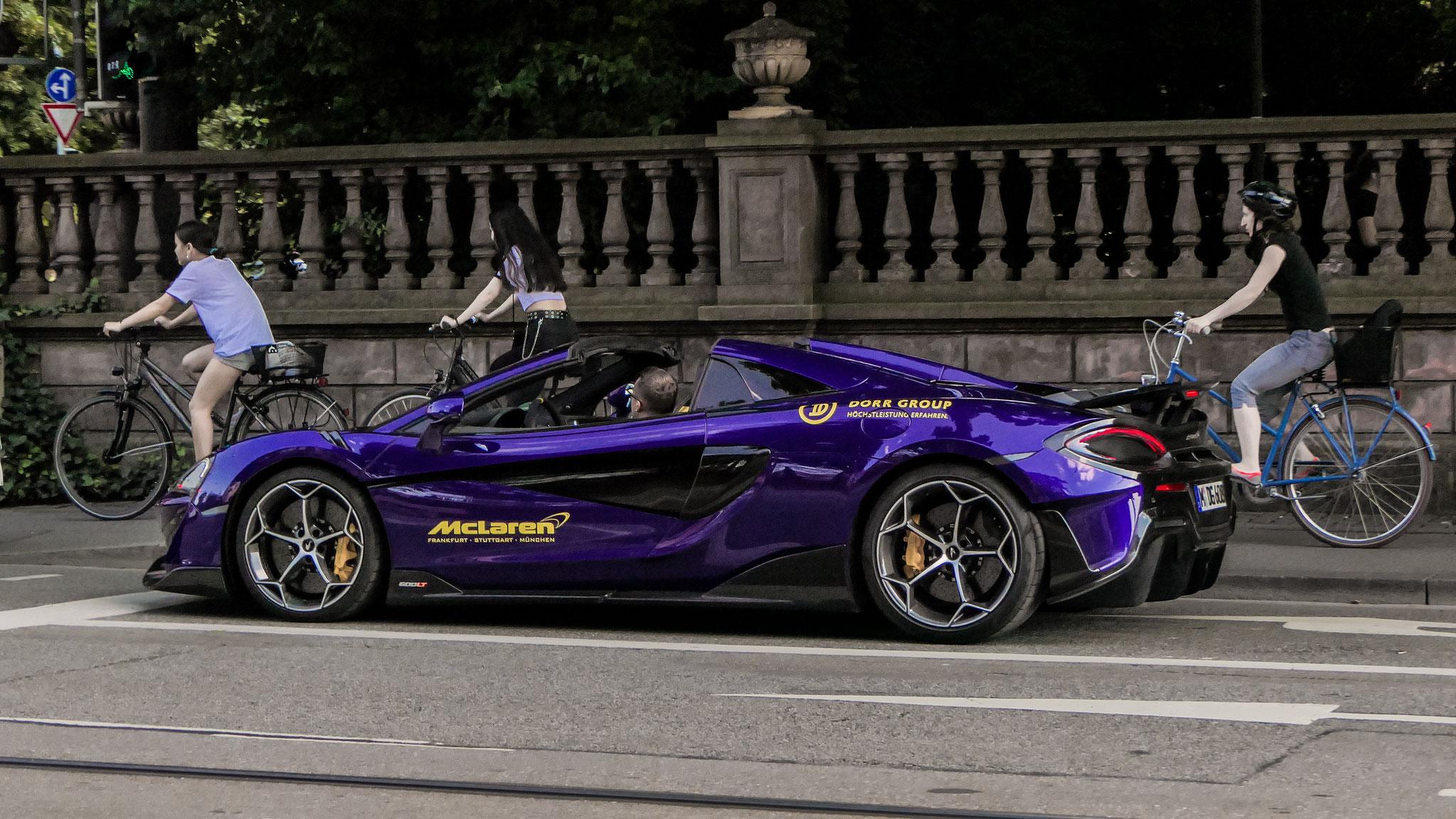 McLaren 600LT Spider - M-DG-608