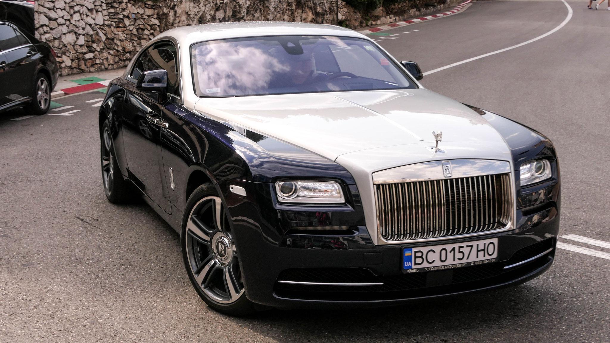 Rolls Royce Wraith - BC-0157-HO (UA)