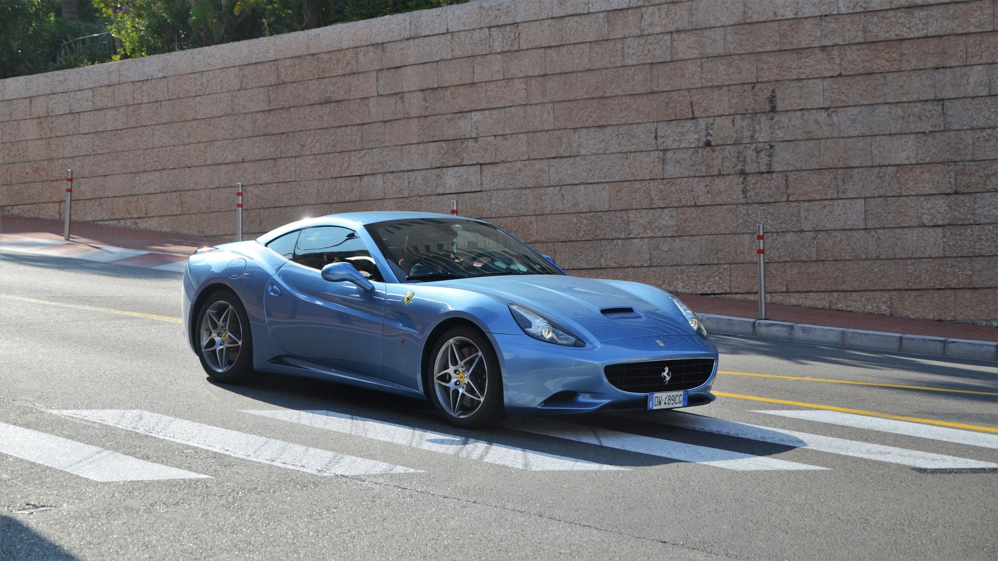 Ferrari California - DW-489-CG (ITA)