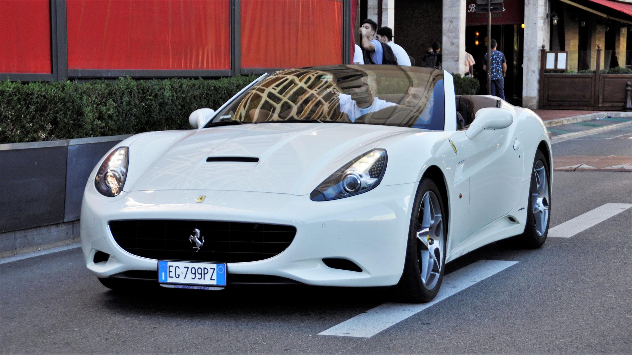 Ferrari California - EG-799-PZ (ITA)
