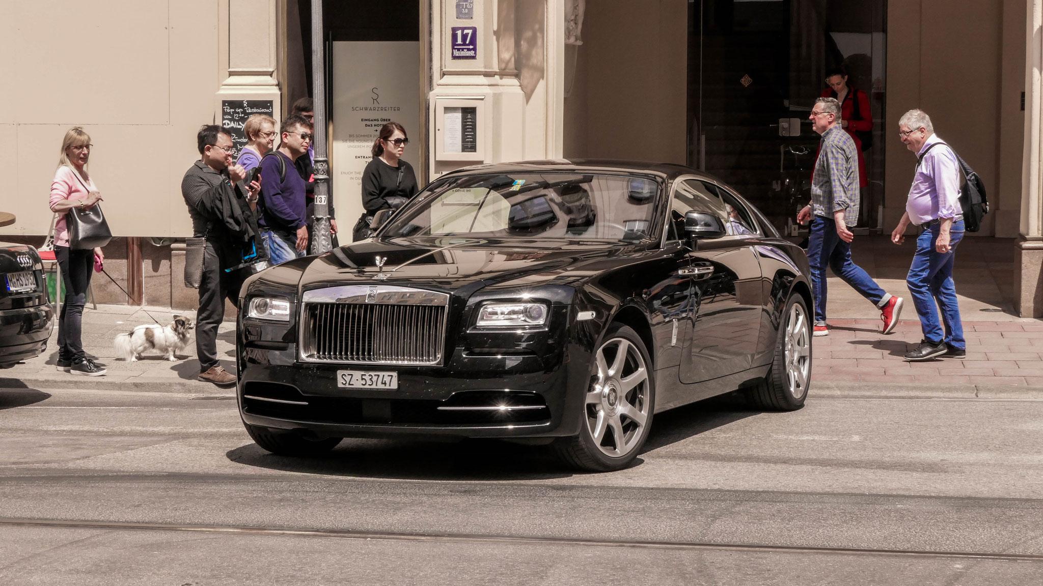 Rolls Royce Wraith - SZ-53747 (CH)
