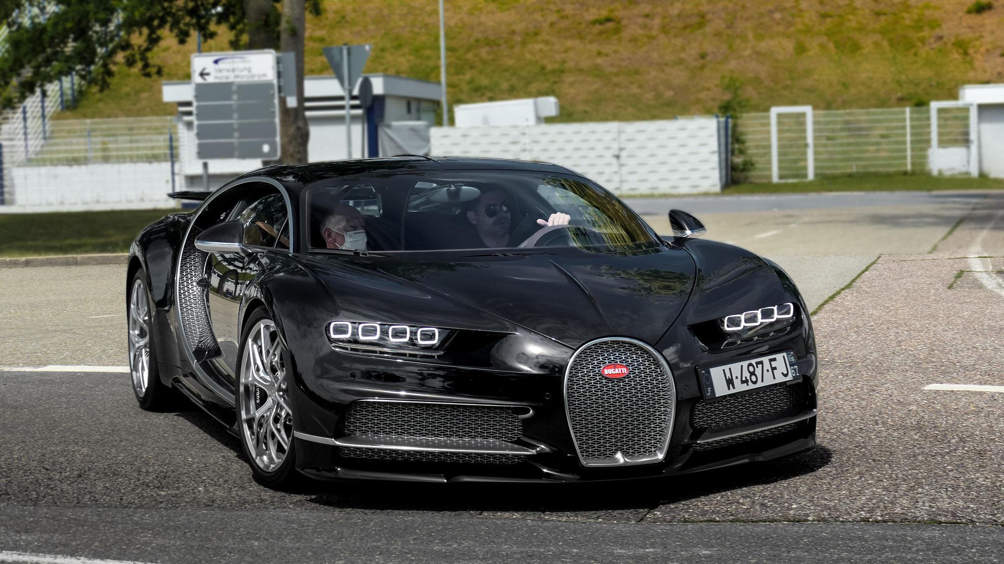 Bugatti Chiron Sport - W-487-FJ-67 (FRA)