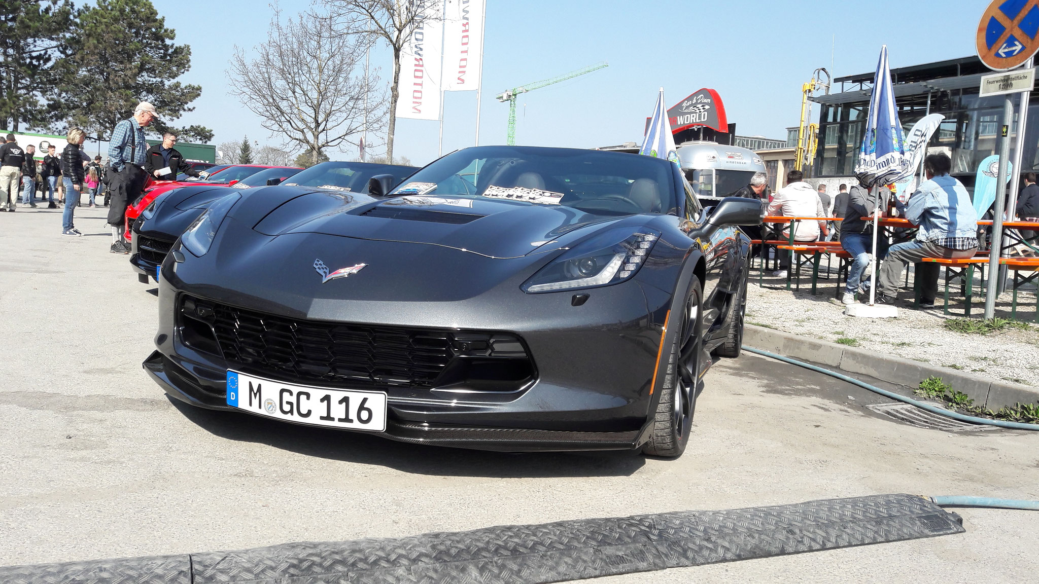 Chevrolet Corvette C7 Z06 Convertible - M-GC-116