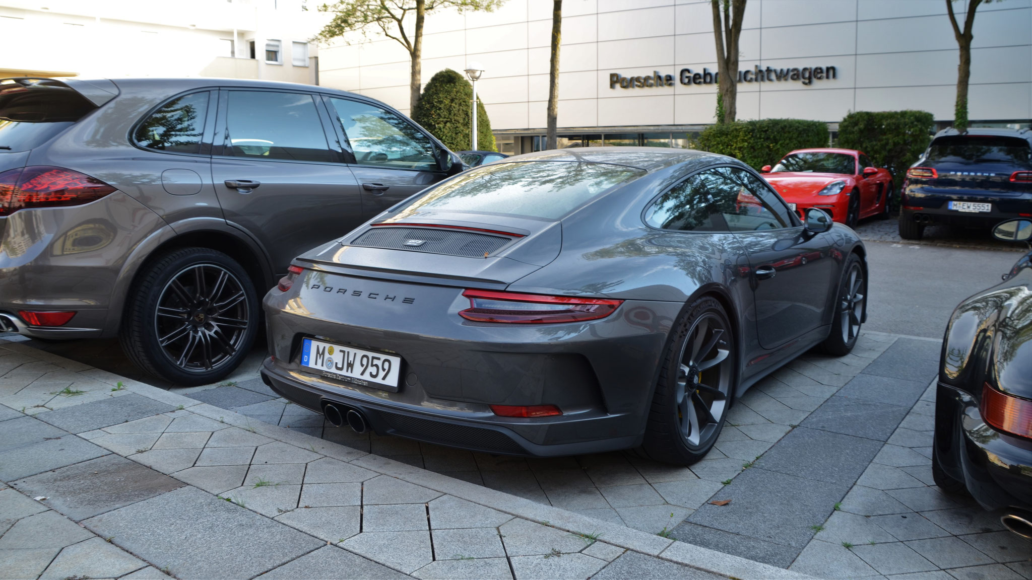 Porsche 991 GT3 Touring Package - M-JW-959