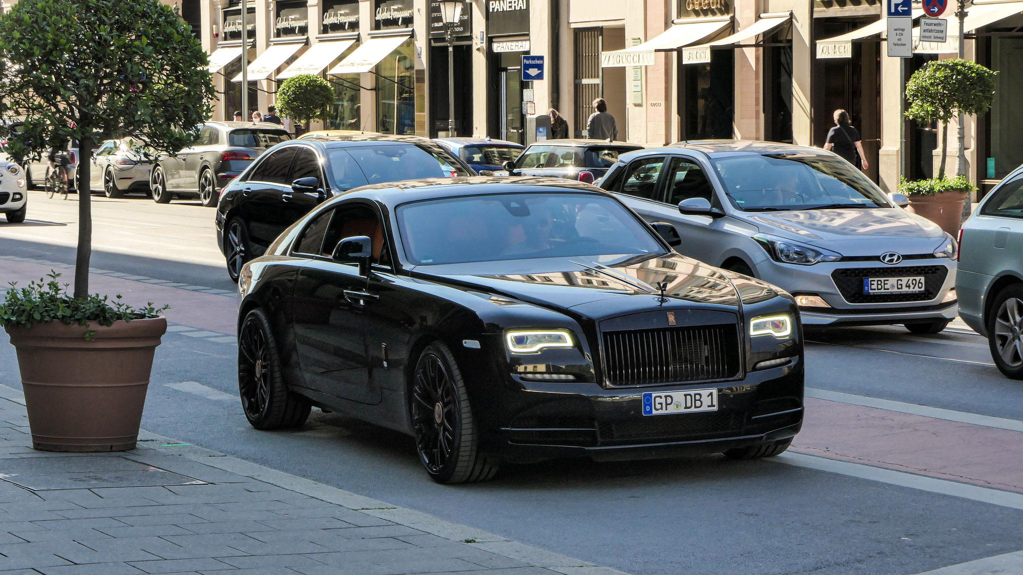Rolls Royce Wraith - GP-DB-1