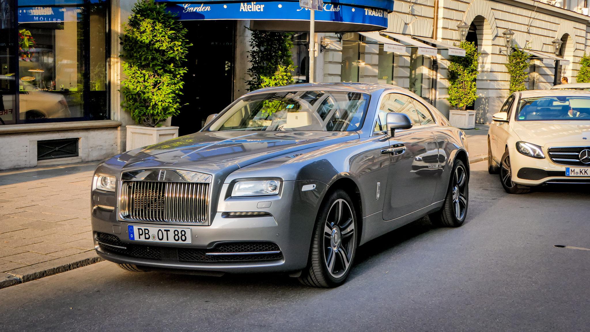 Rolls Royce Wraith - PB-OT-88