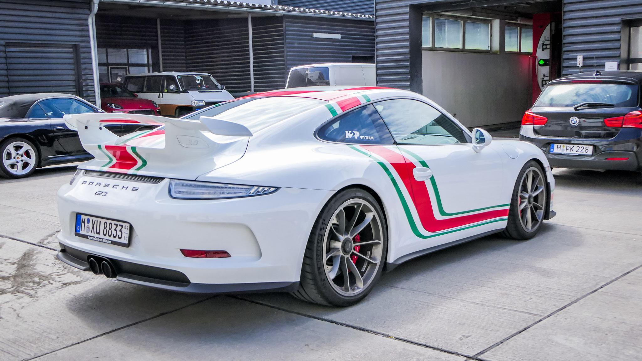 Porsche 991 GT3 - M-XU-8833