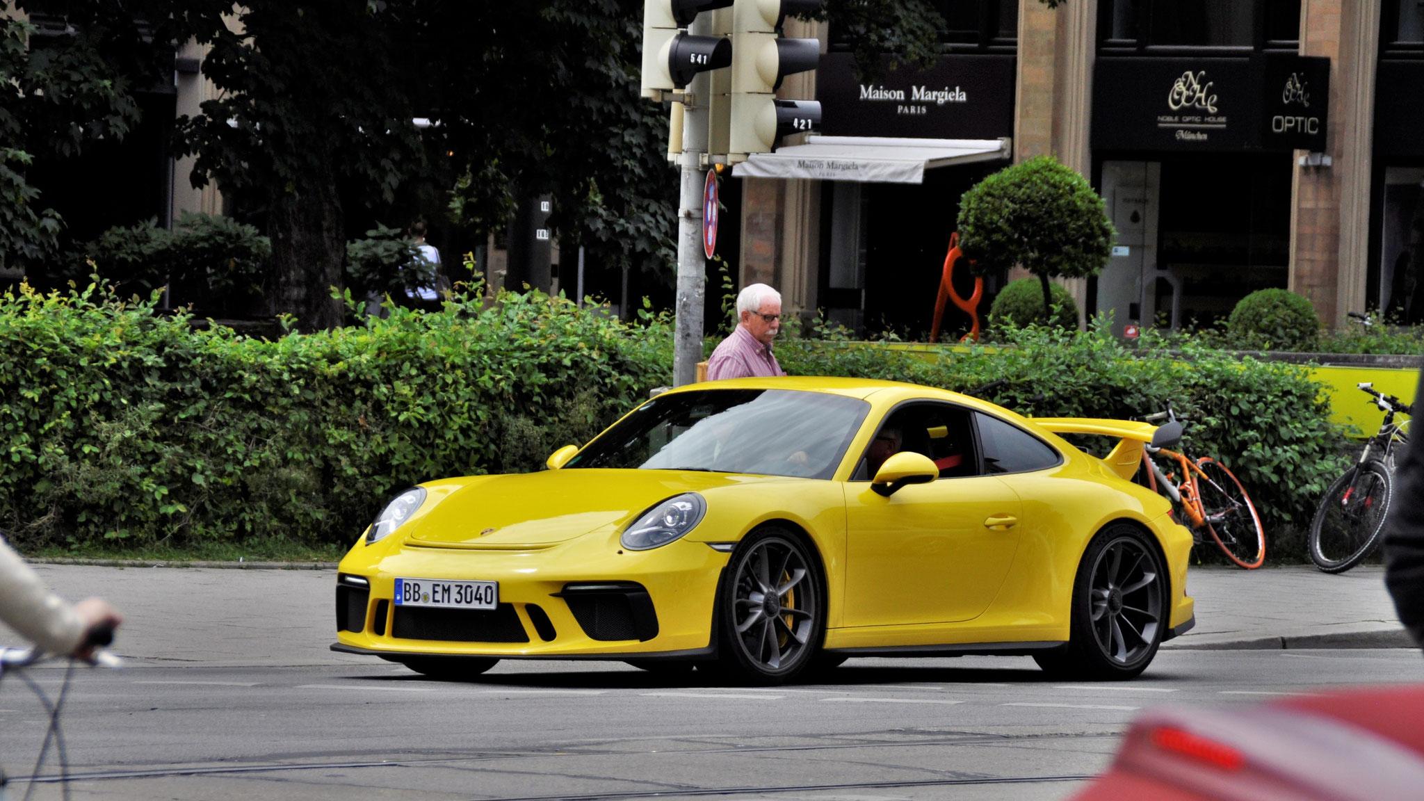 Porsche 991 GT3 - BB-EM-3040