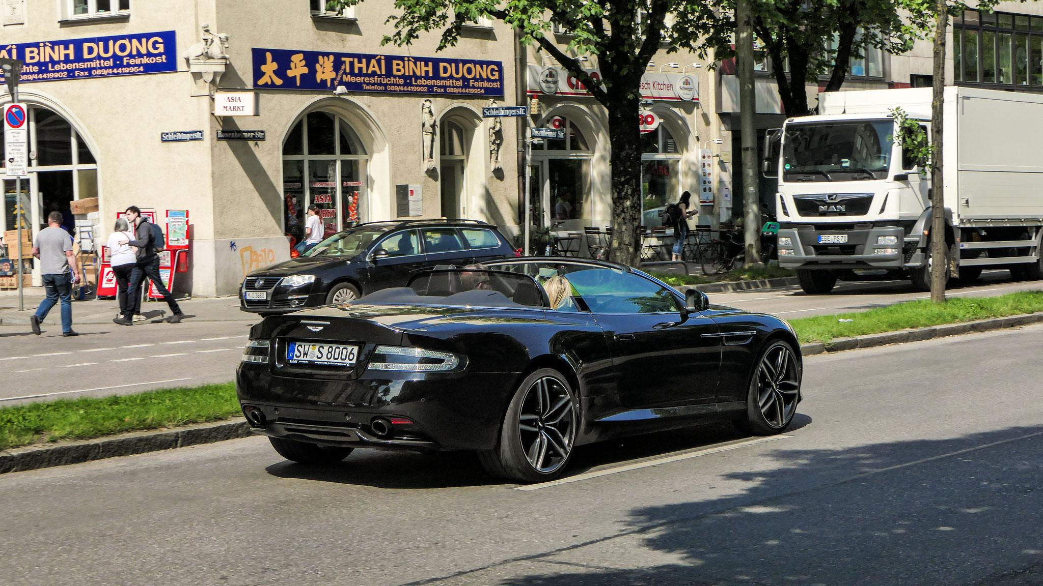 Aston Martin DB9 GT Volante - SW-S-8006