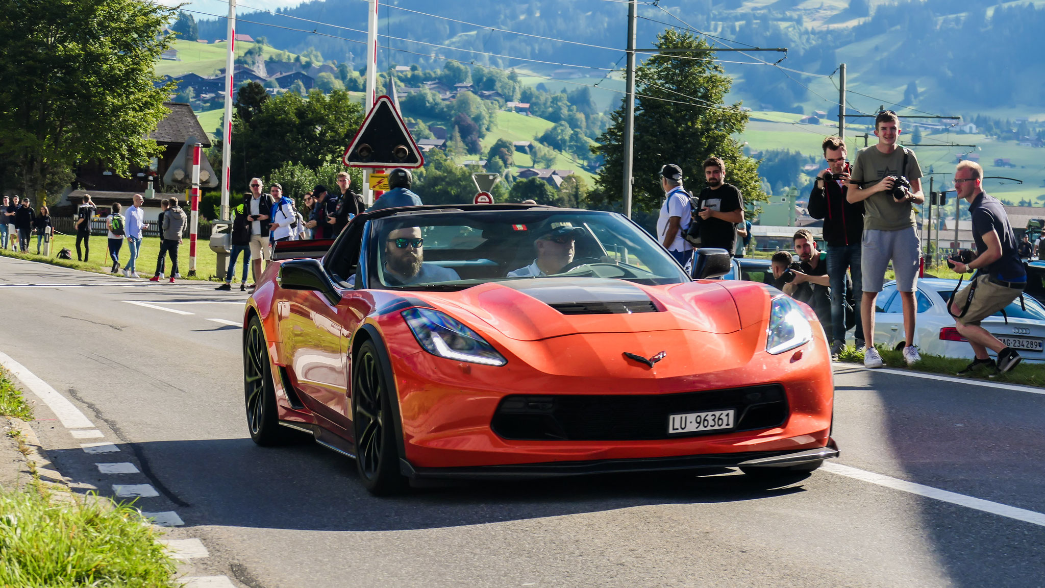 Chevrolet Corvette C7 Grand Sport - LU-96361 (CH)