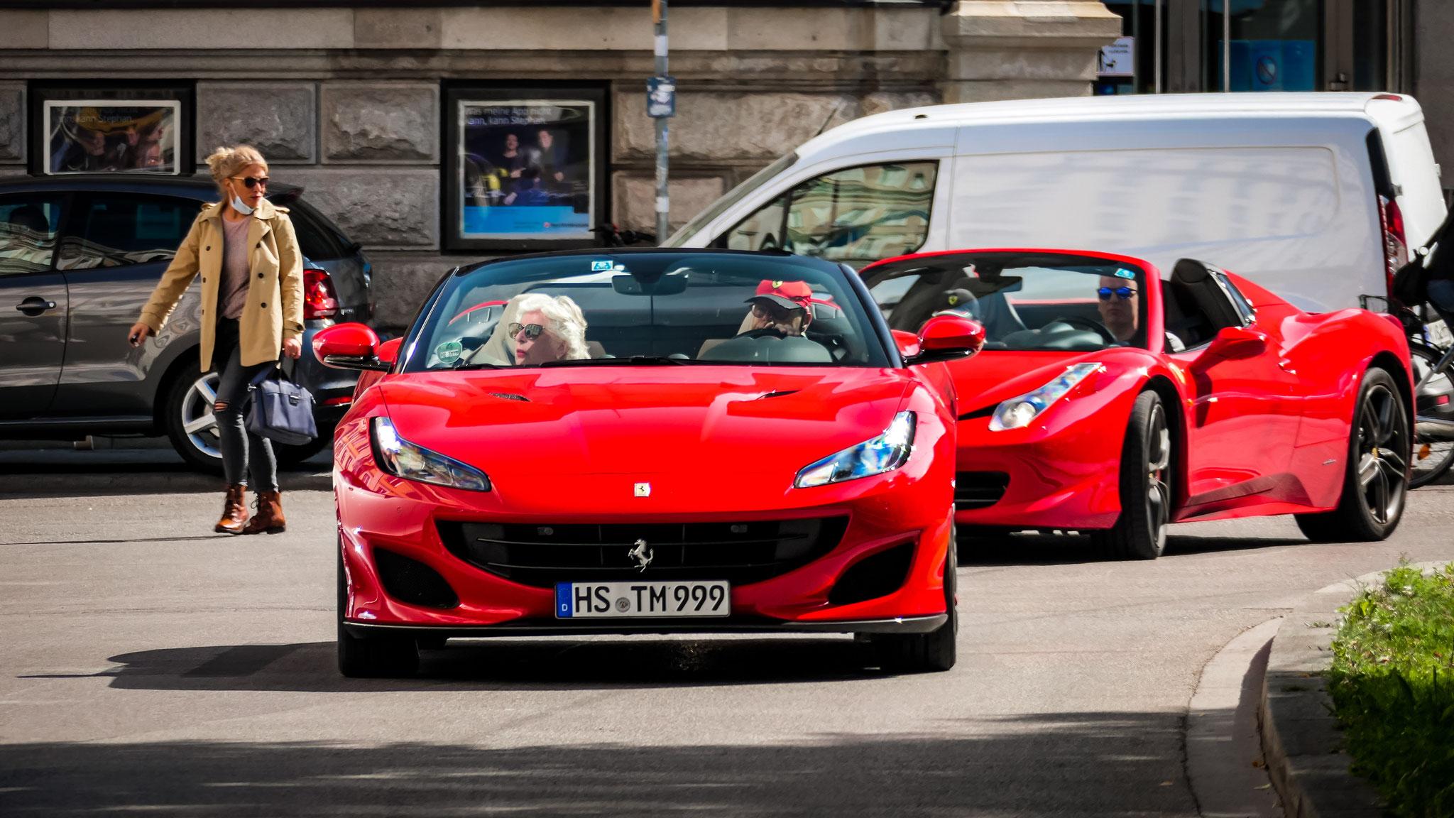 Ferrari Portofino -HS-TM-999