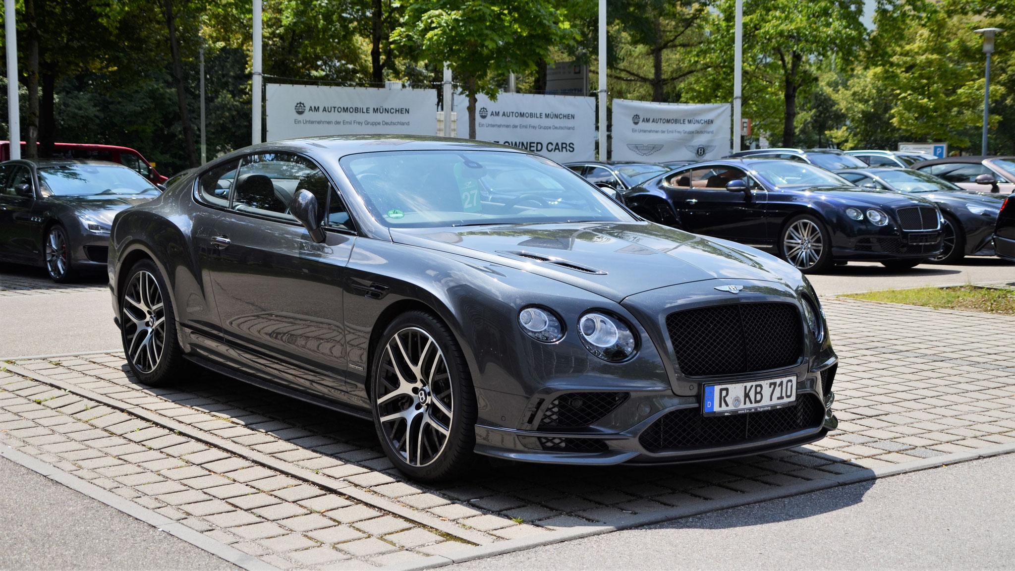 Bentley Continental GT Supersports - R-KB-710