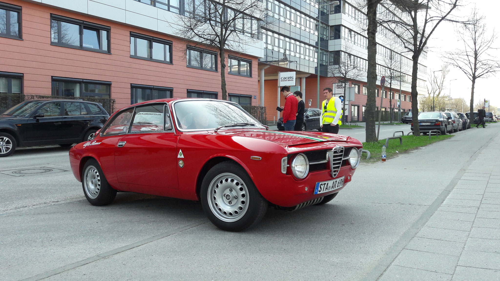 Alfa Romeo Giulia Sprint GT - STA-AR-69H