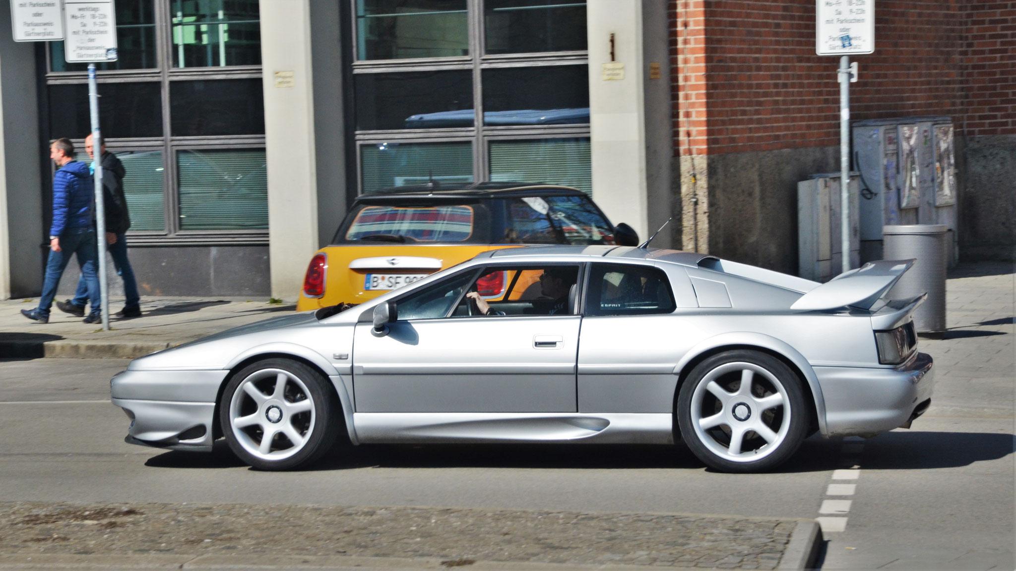 Lotus Esprit V8 - BE-625-KM-75 (FRA)