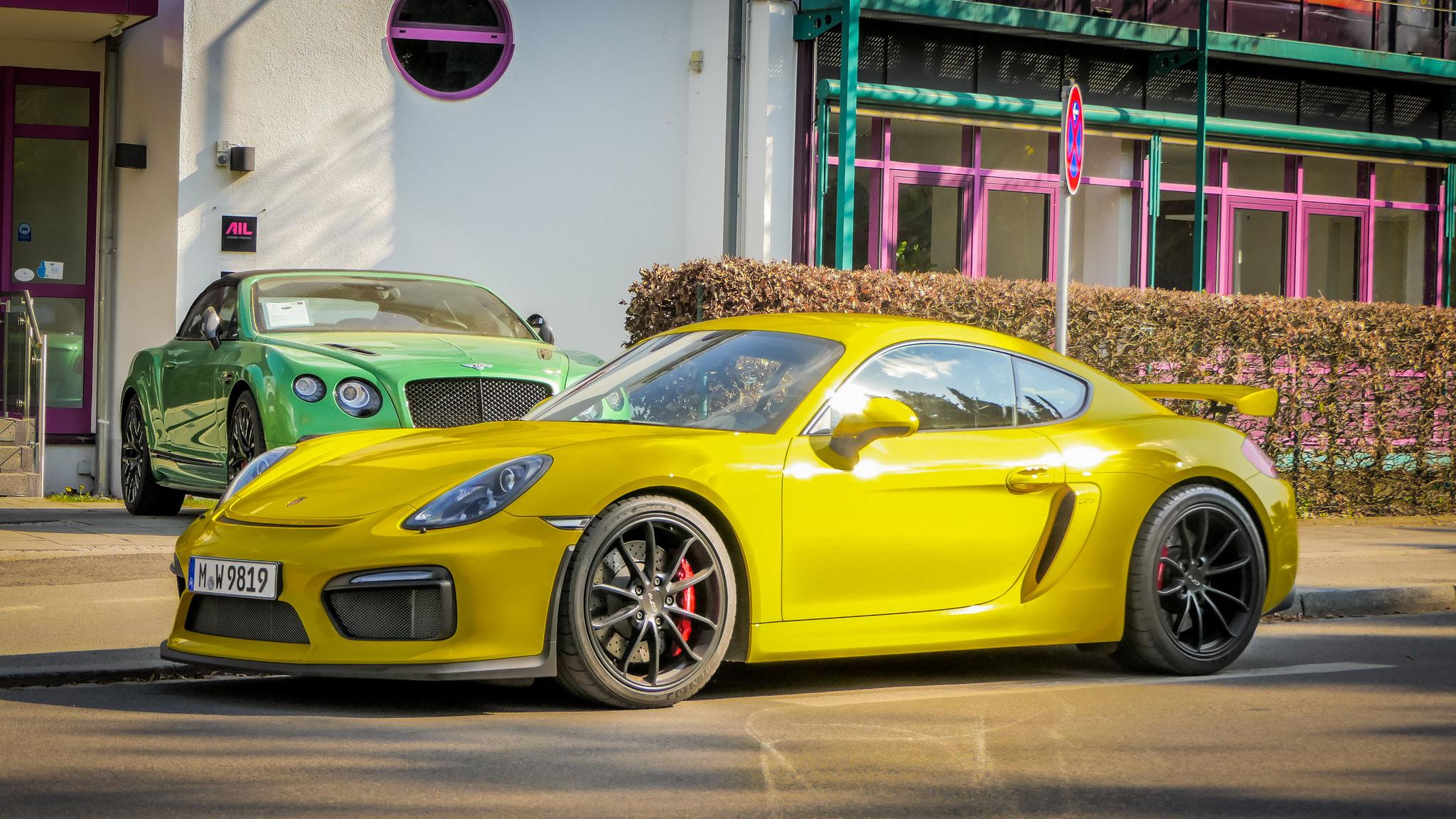 Porsche Cayman GT4 - M-W-9819