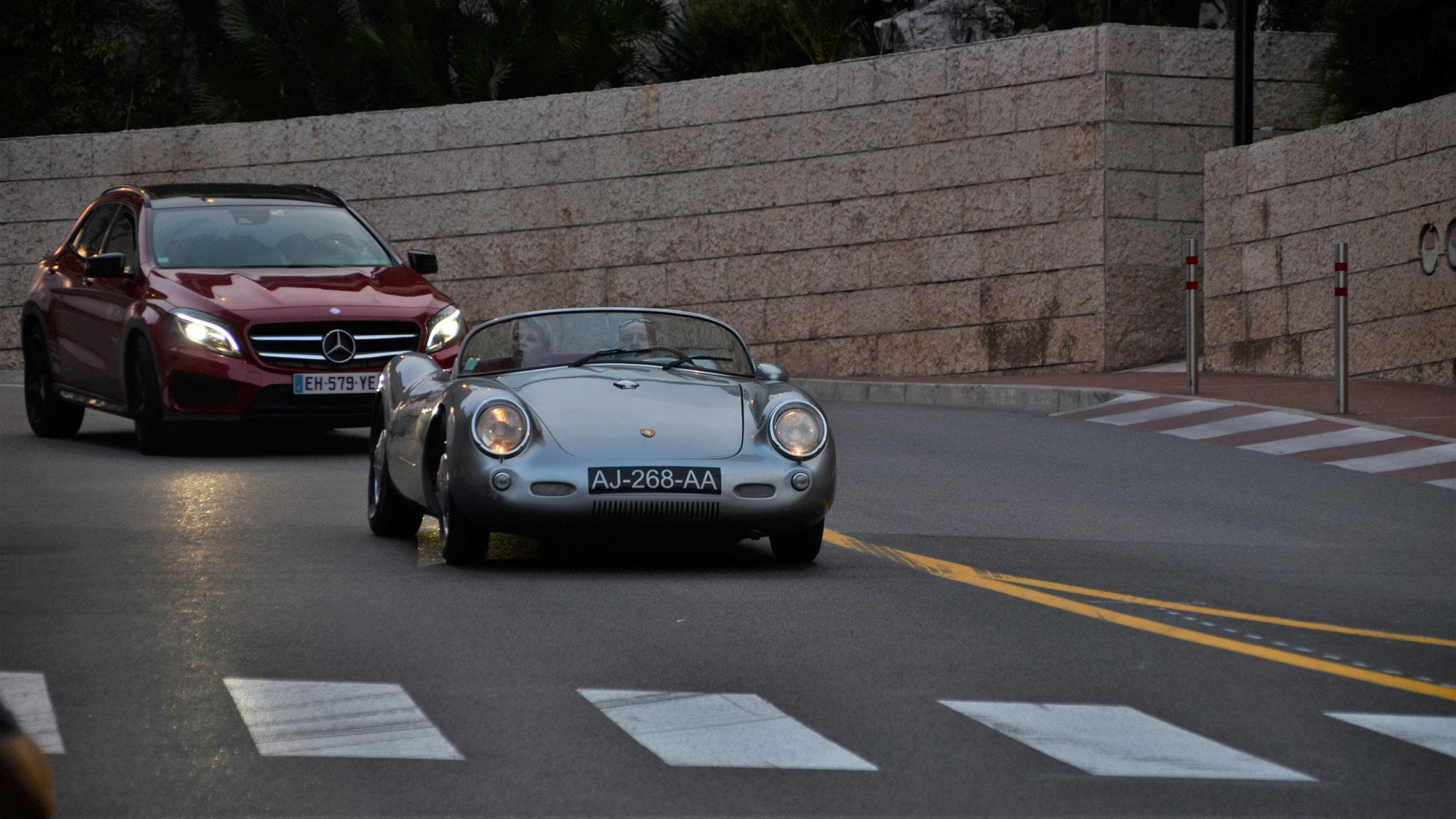 Porsche 550 Spyder - AJ-268-AA (FRA)