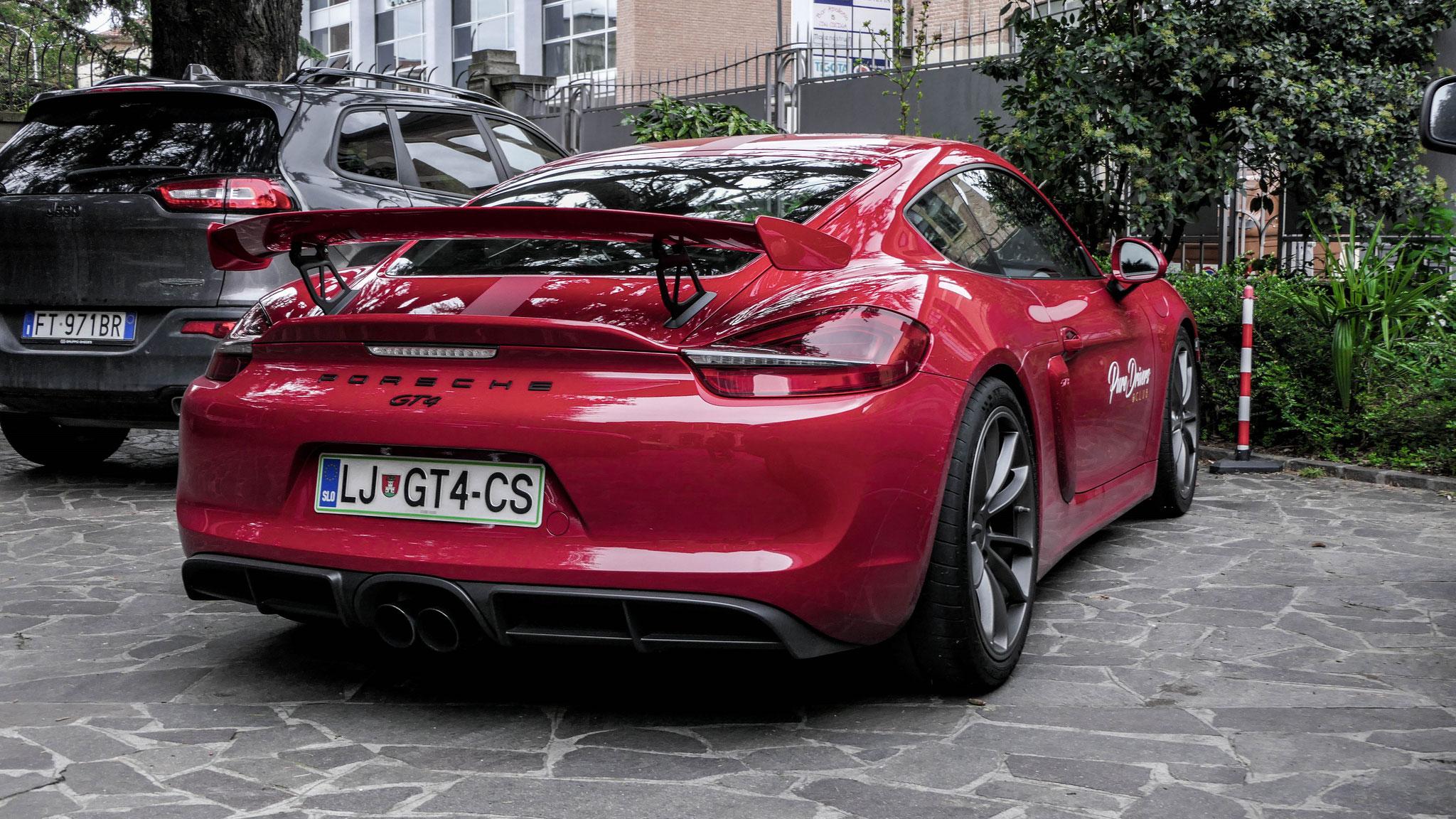 Porsche Cayman GT4 - LJ-GT4-CS (SLO)