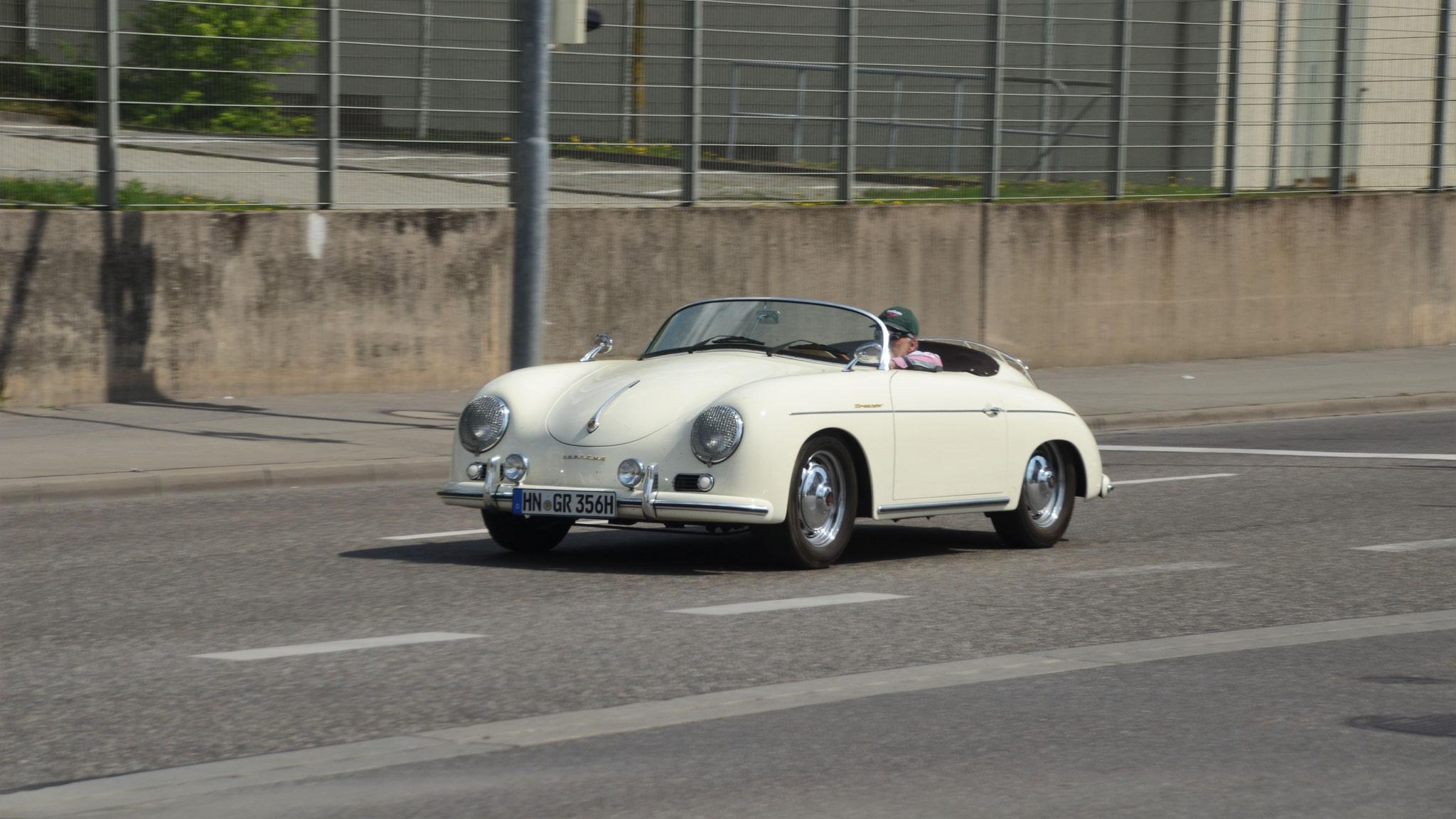 Porsche 356 1600 Super Speedster - HN-GR-356H