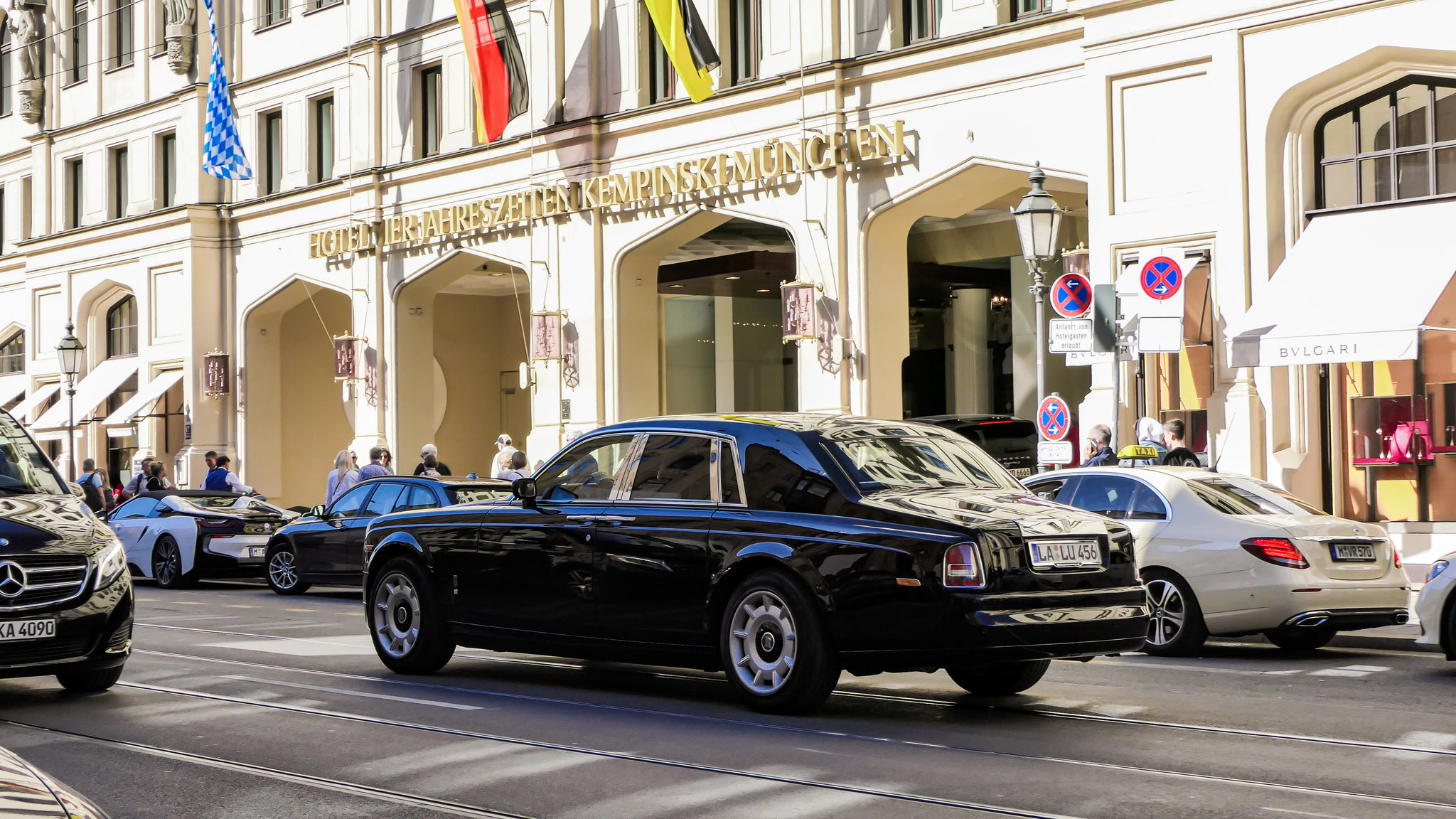 Rolls Royce Phantom - LA-LU-456