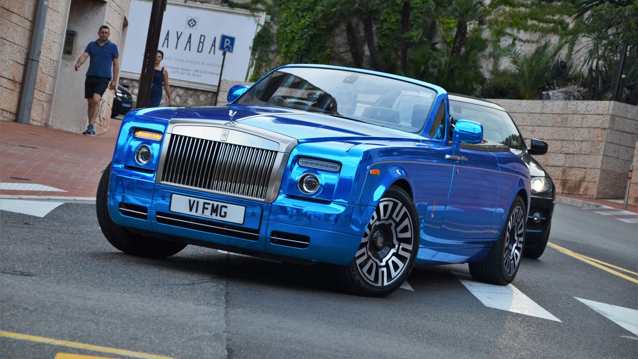Rolls Royce Drophead - V1-FMG (GB)