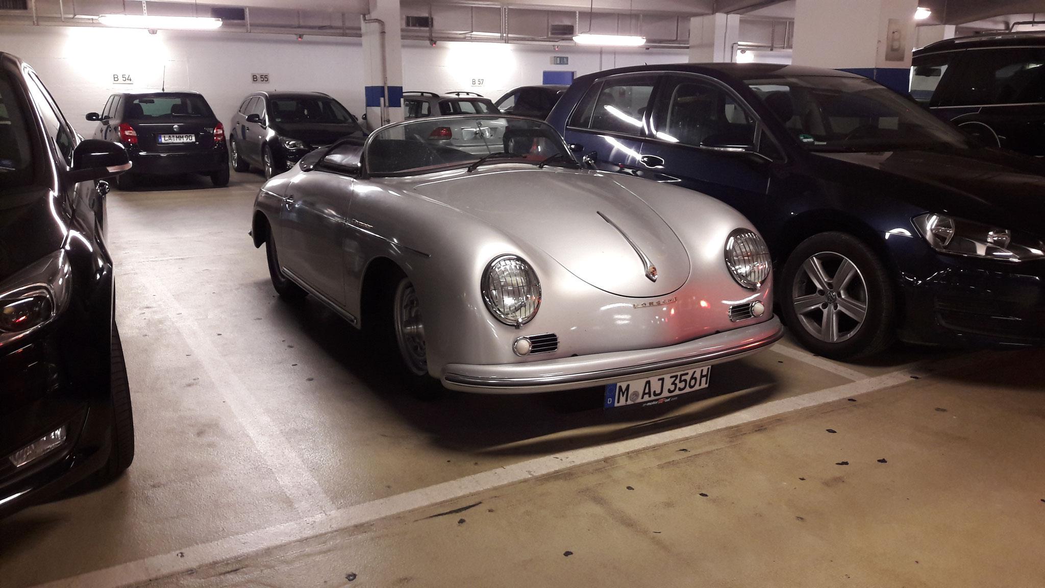 Porsche 356 1500 Speedster - M-AJ-356H