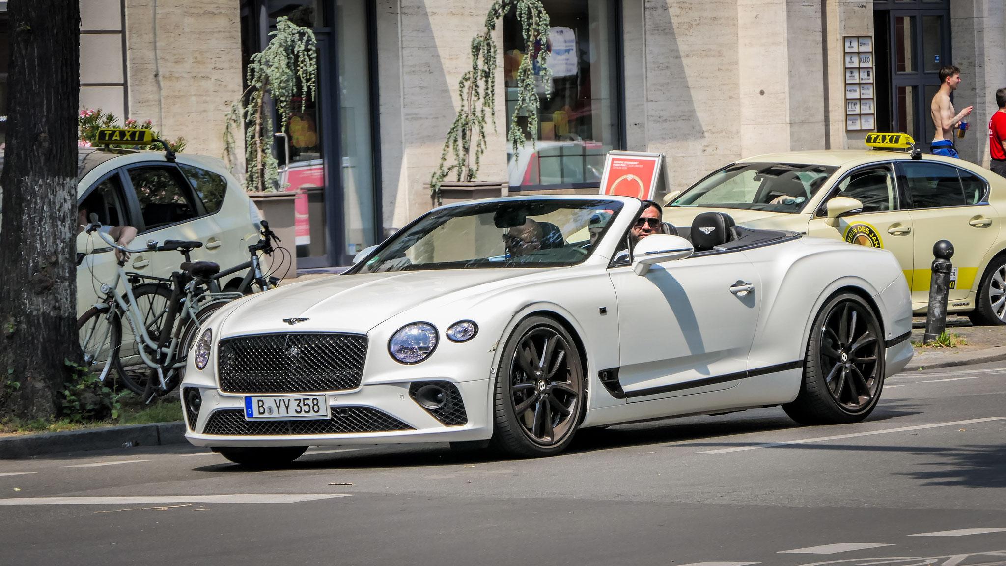 Bentley Continental GTC - B-YY-358