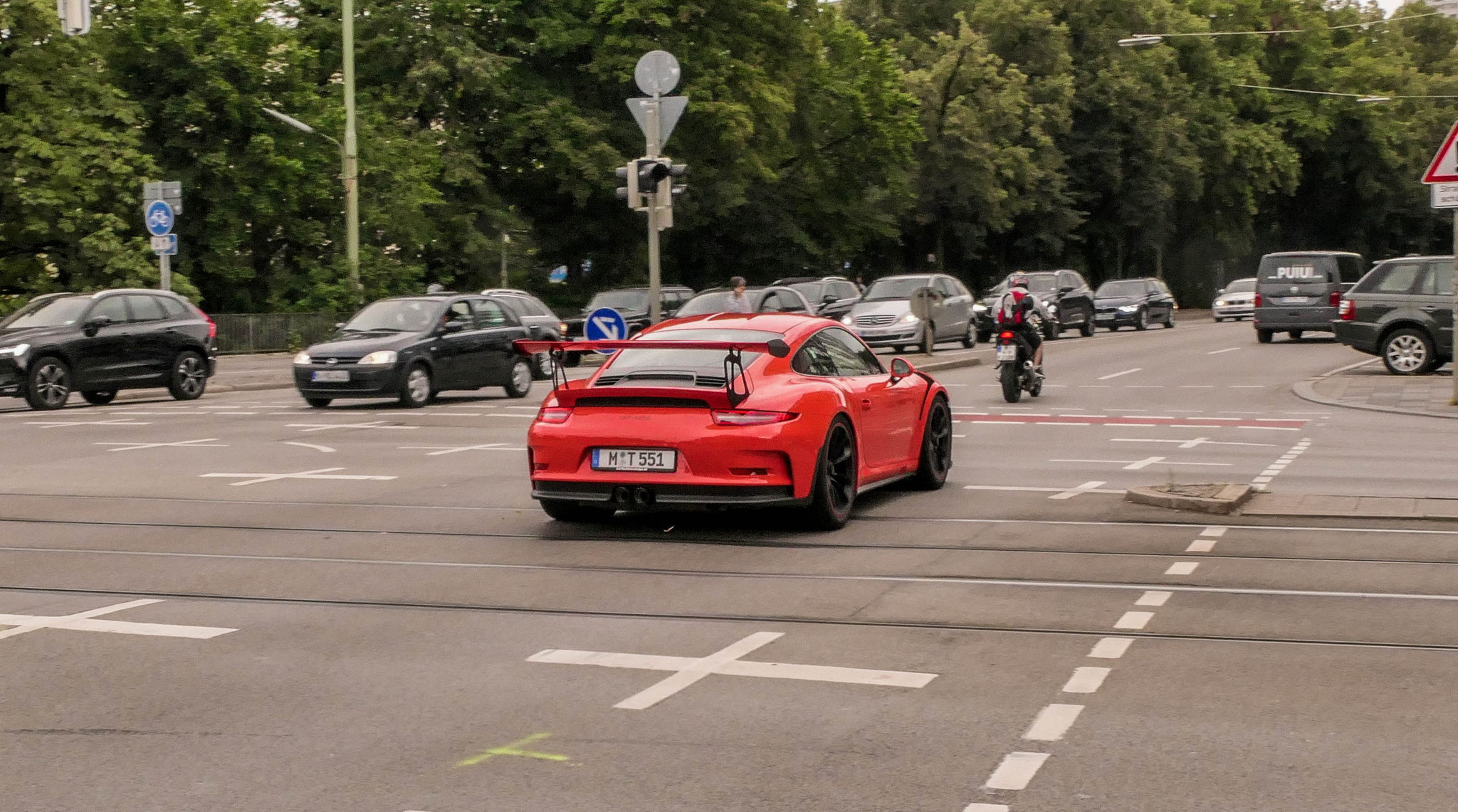 Porsche 911 GT3 RS - M-T-551
