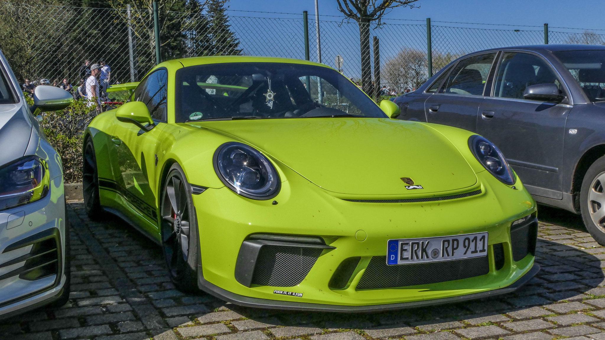 Porsche 991 GT3 - ERK-RP-911