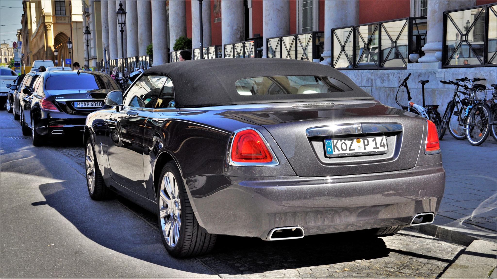 Rolls Royce Dawn - KÖZ-P-14