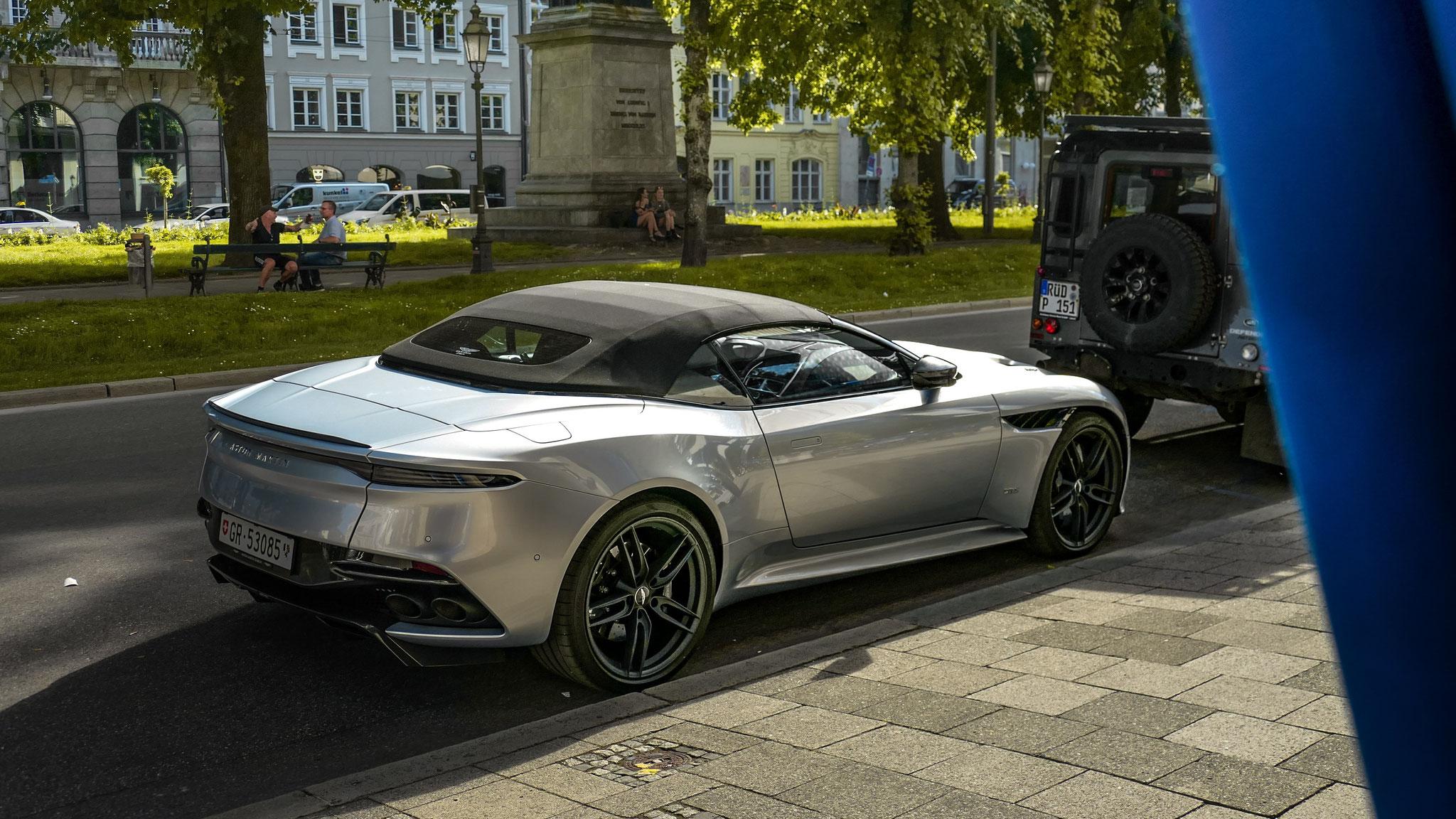 Aston Martin DBS Superleggera Volante - GR-53085 (CH)