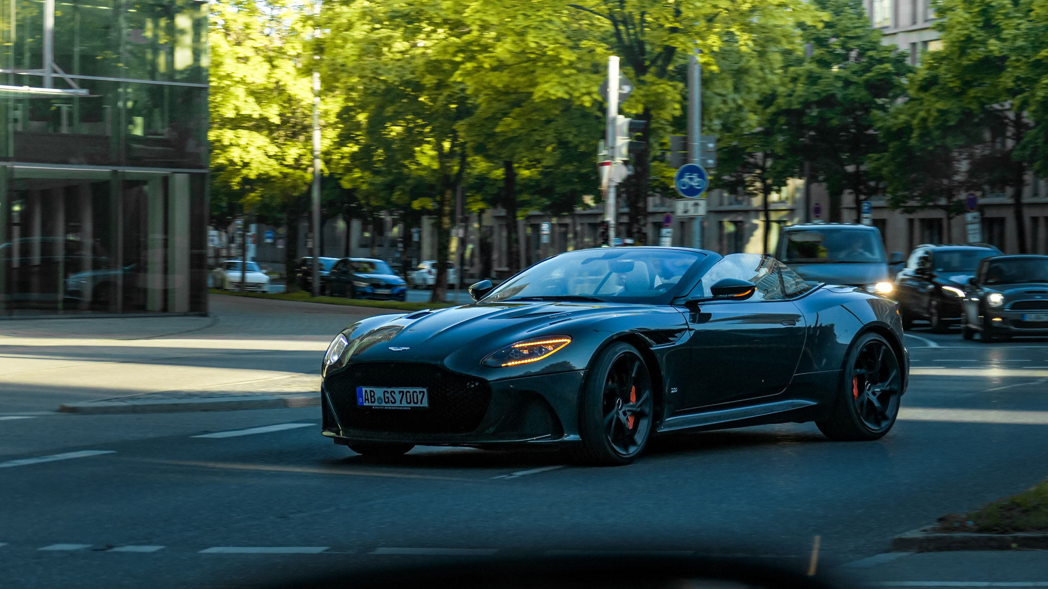 Aston Martin DBS Superleggera Volante - AB-GS-7007