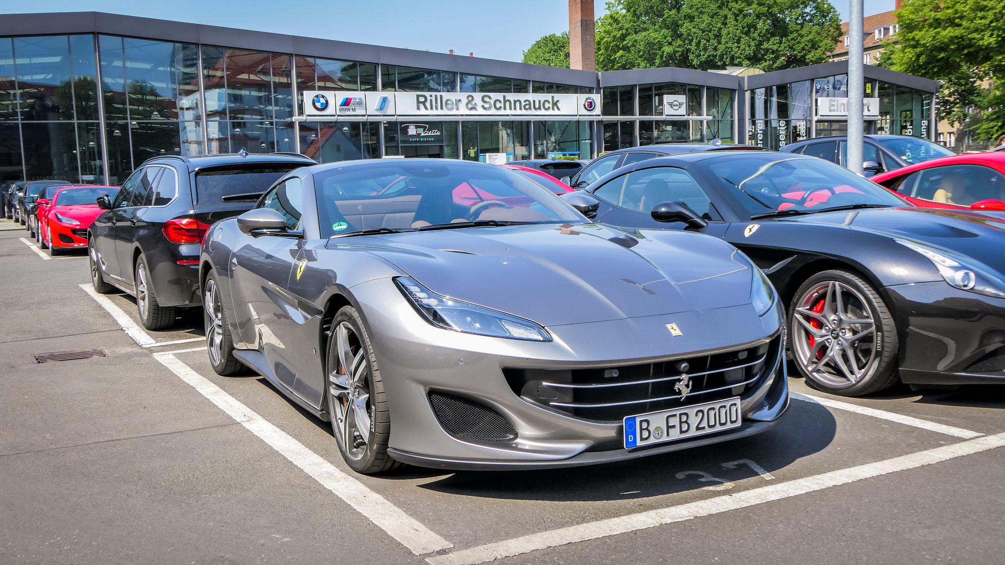 Ferrari Portofino - B-FB-2000