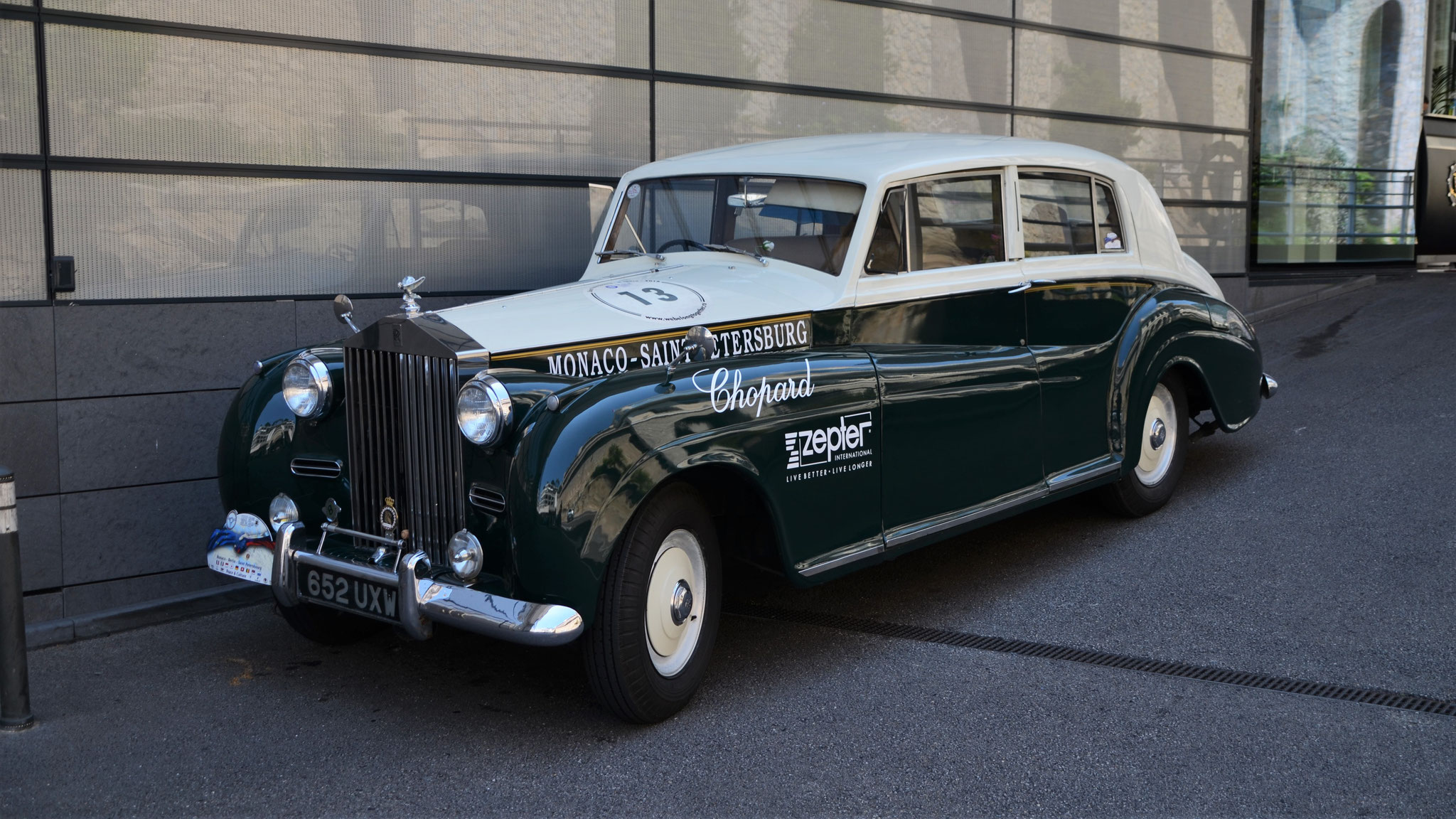 Rolls Royce Silver Cloud II - 652-UXW (GB)