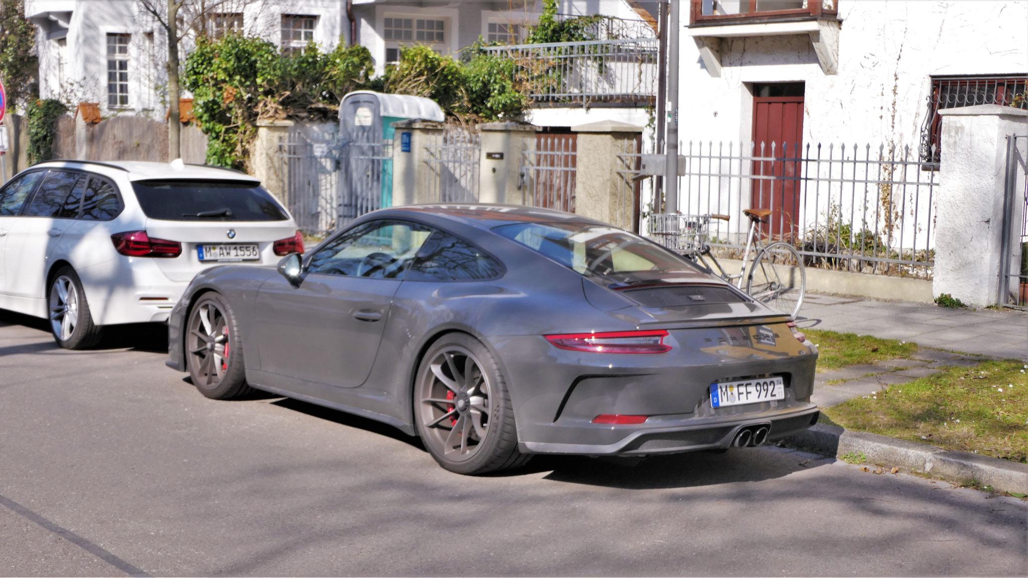 Porsche 991 GT3 Touring Package - M-FF-992
