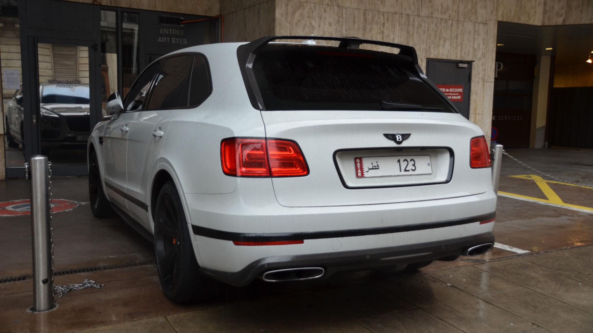 Bentley Bentayga - 123 (QAT)
