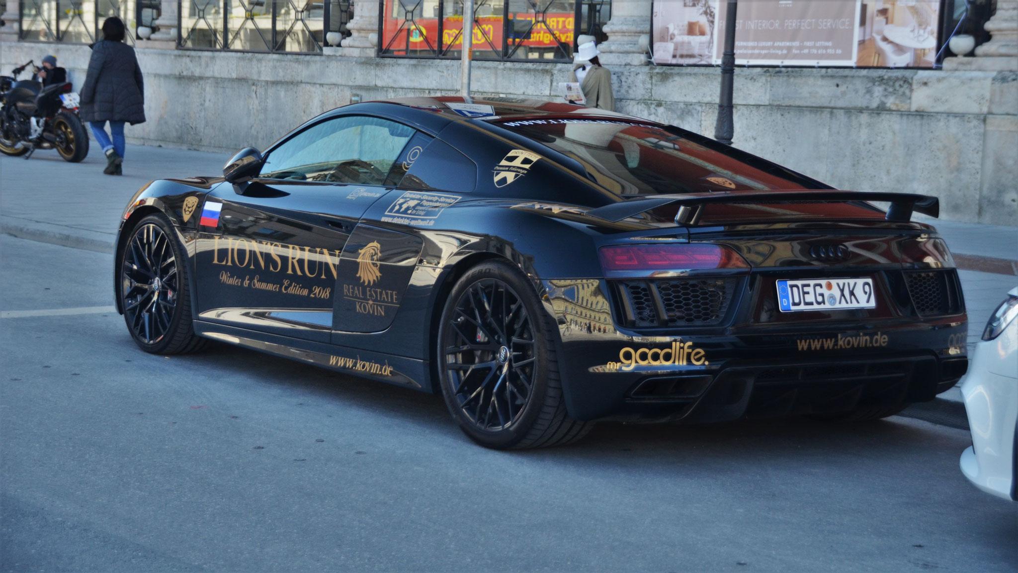 Audi R8 V10 - DEG-XK-9