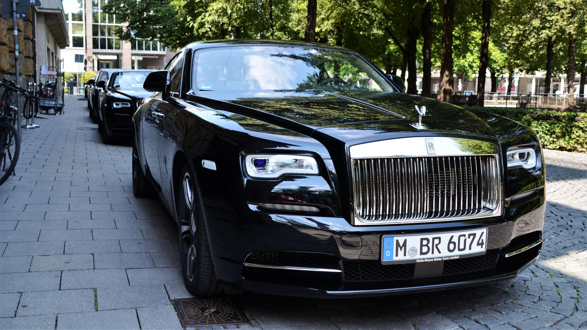 Rolls Royce Wraith - M-BR-6074