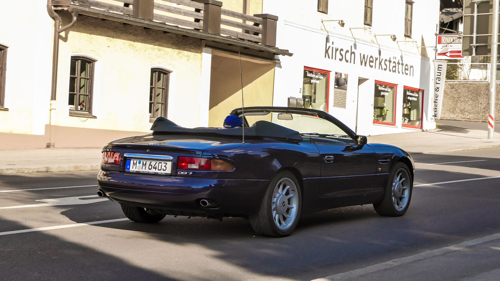 Aston Martin DB7 Volante - M-M-6403
