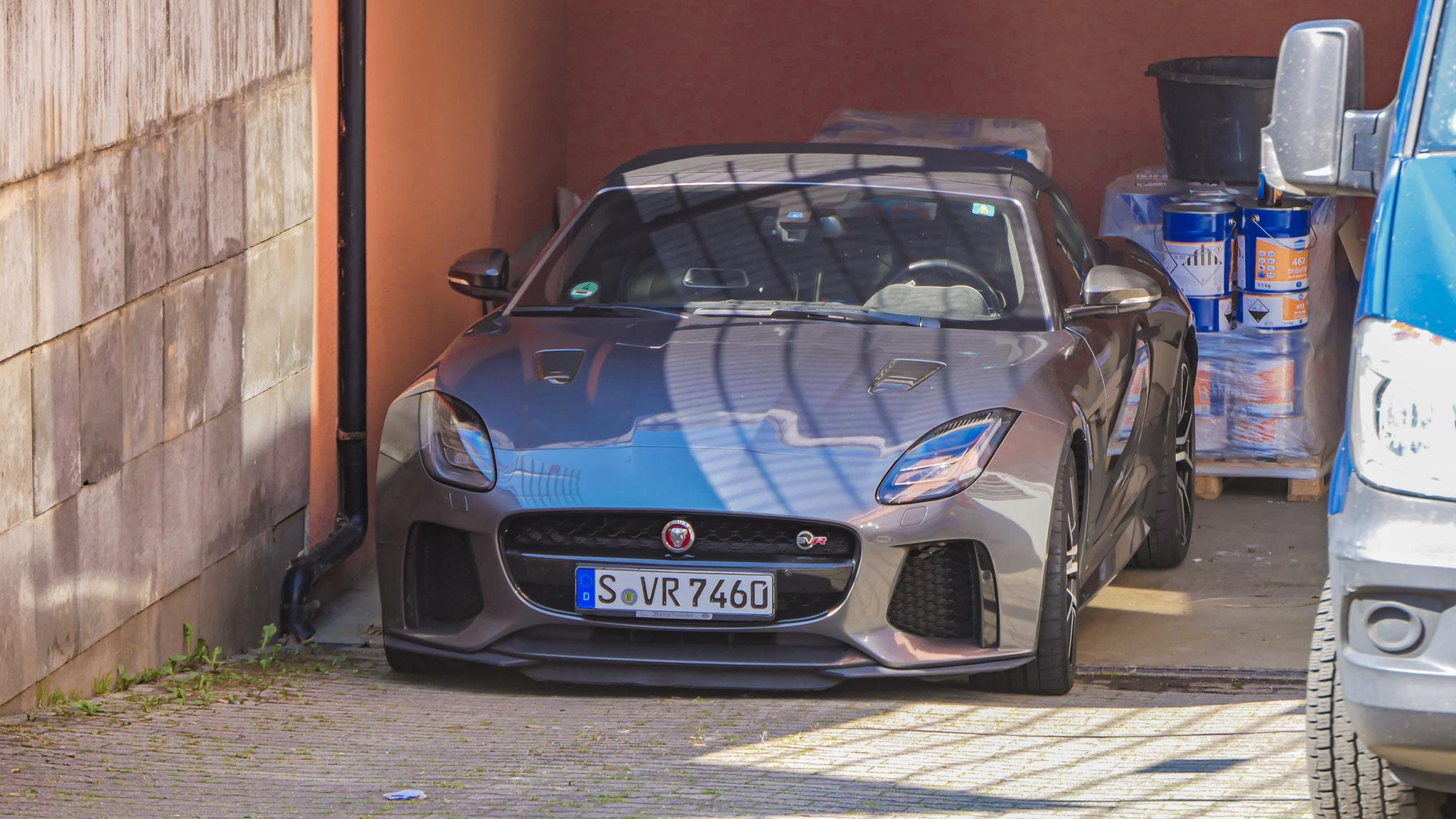 Jaguar F-Type SVR Cabrio - S-VR-7460