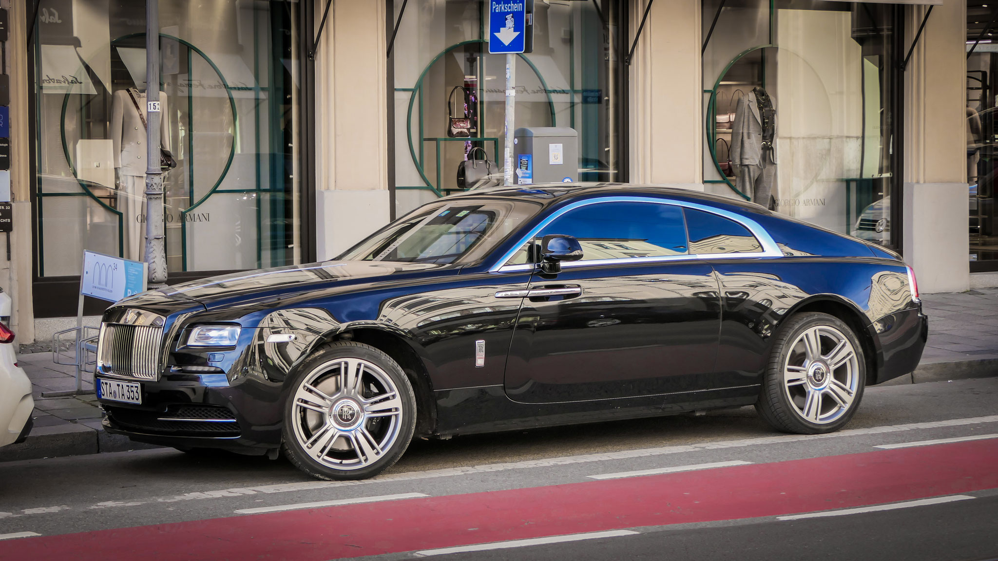Rolls Royce Wraith - STA-TA-353