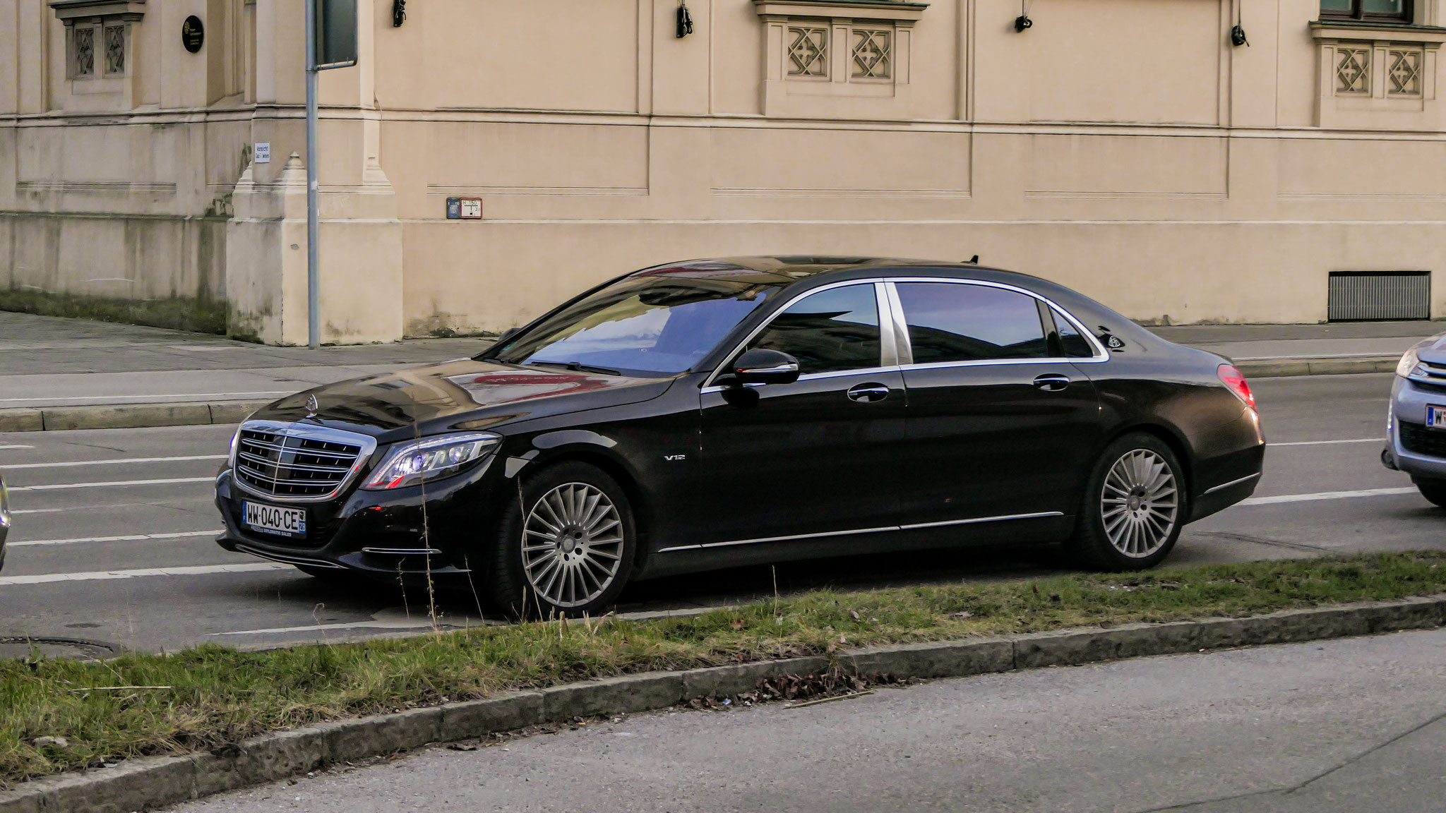 Mercedes Maybach S600 - WW-040-CE-2B (FRA)