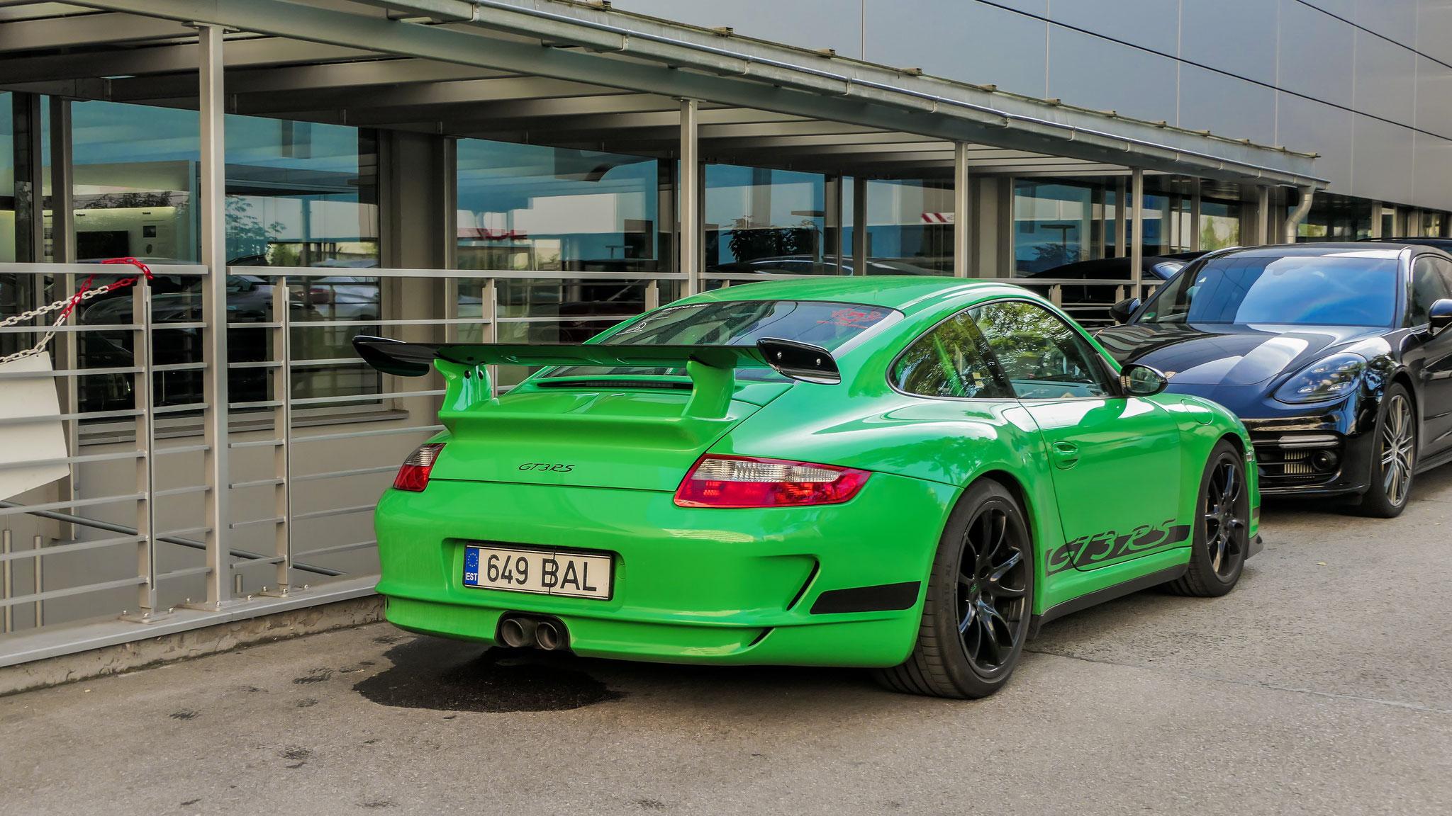 Porsche 997 GT3 RS - 649-BAL (EST)