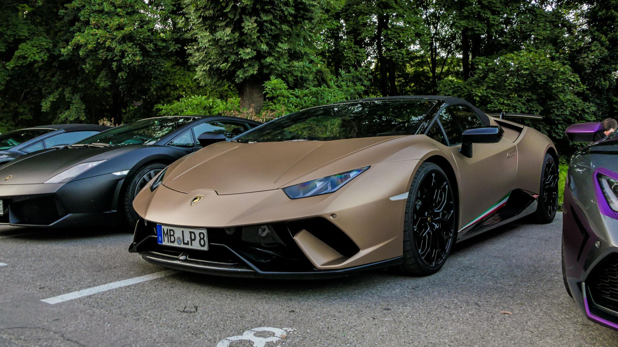 Lamborghini Huracan Performante Spyder - MB-LP-8