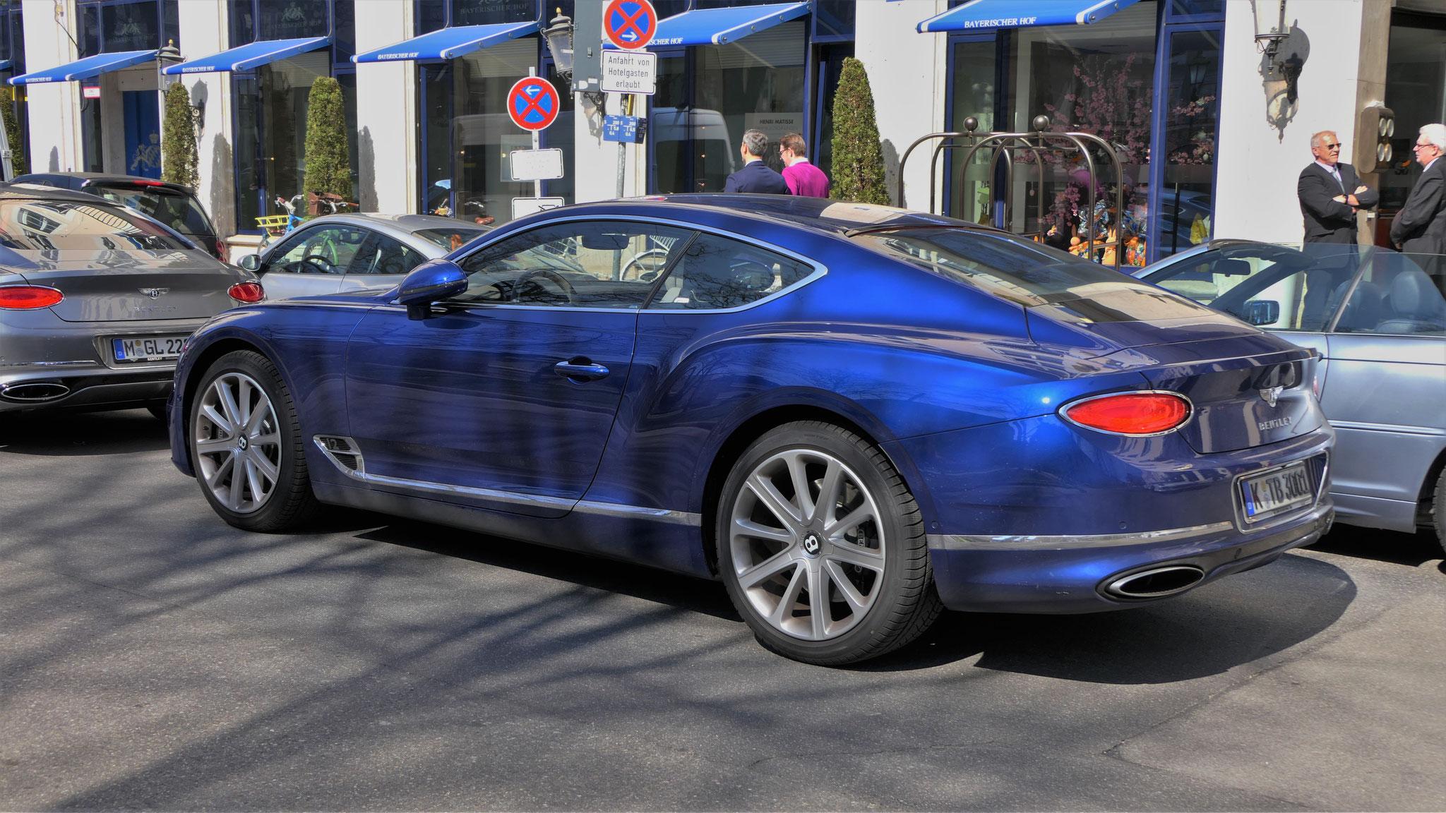 Bentley Continental GT - K-TB-3001