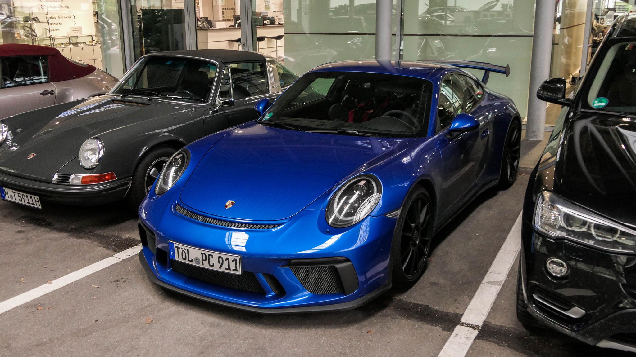 Porsche 991 GT3 - TÖL-PC-911