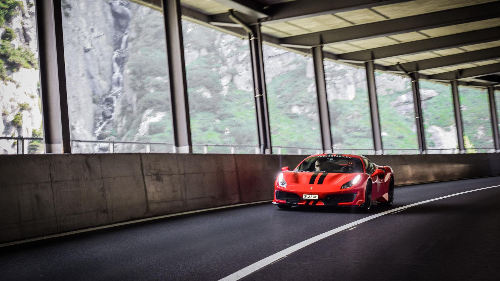 Ferrari 488 Pista - GR-488488 (CH)
