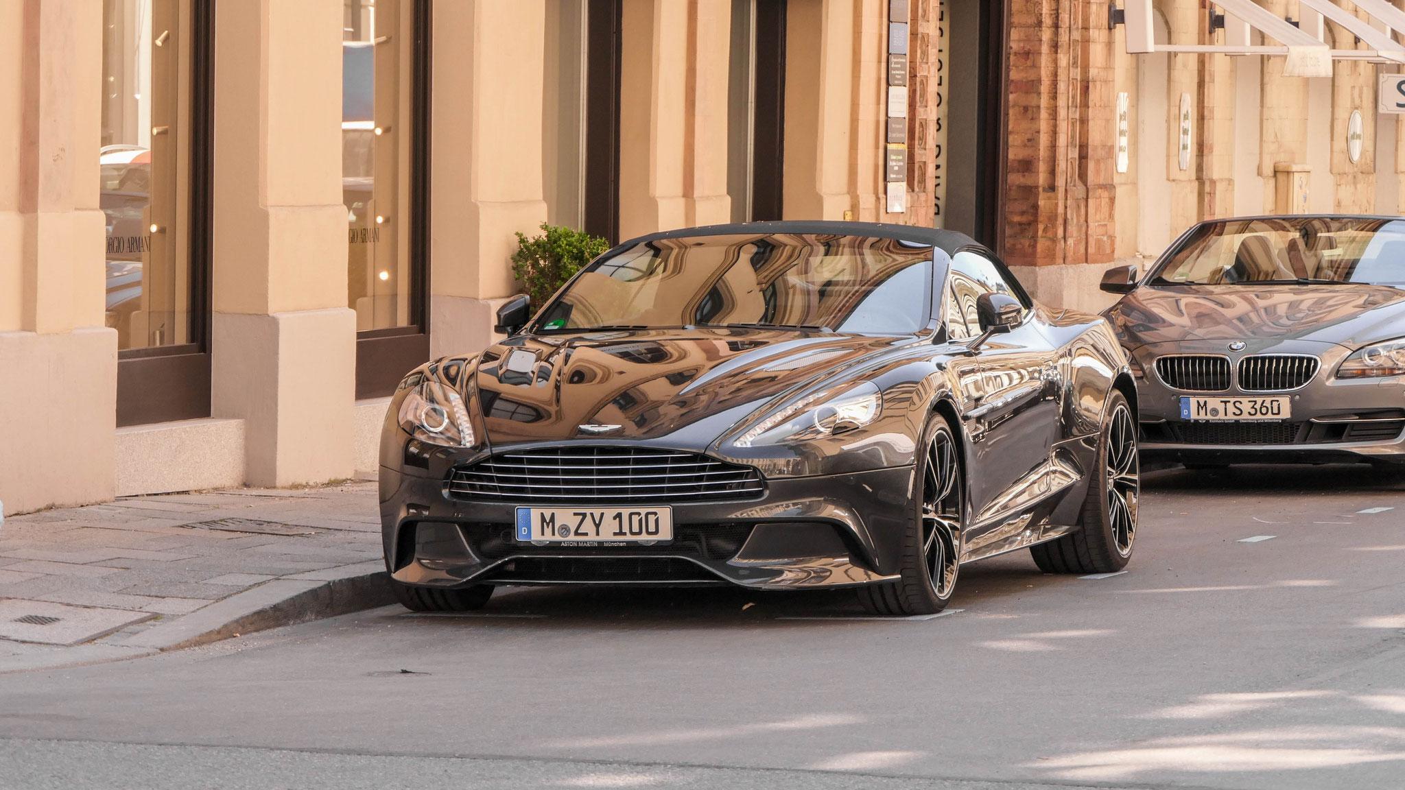 Aston Martin Vanquish Volante - M-ZY-100
