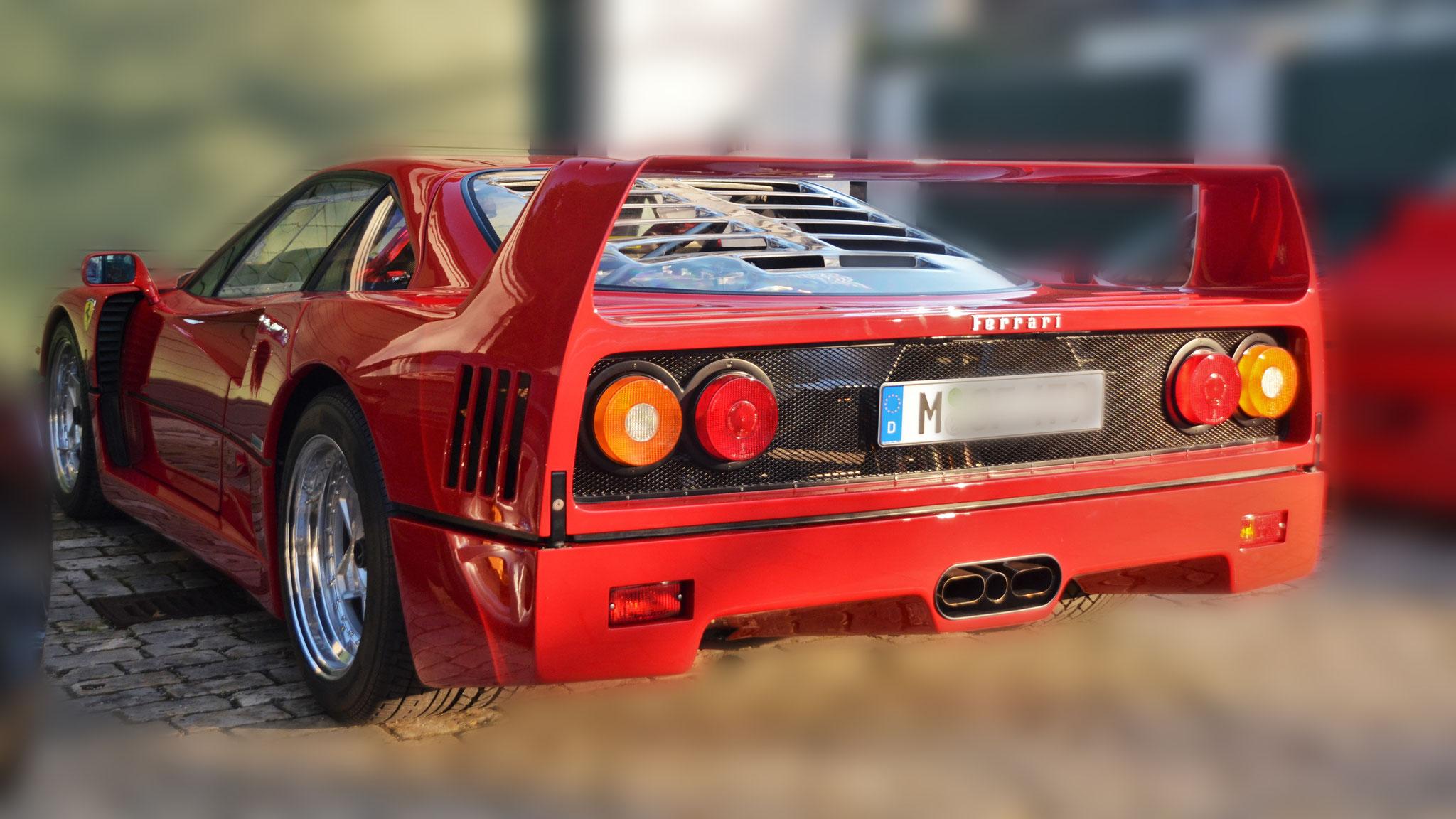 Ferrari F40 - M-SF-XXX